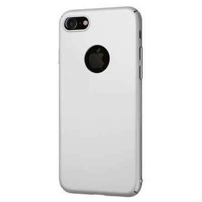 Microsonic Iphone 7 Kılıf Premium Slim Gümüş Cep Telefonu Kılıfı