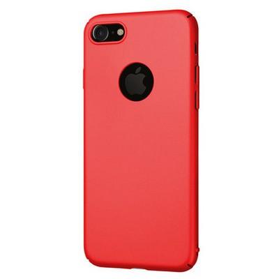 Microsonic Iphone 7 Kılıf Premium Slim Kırmızı Cep Telefonu Kılıfı
