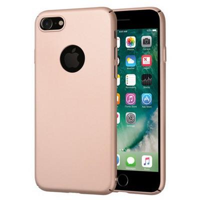 Microsonic Iphone 7 Kılıf Premium Slim Gold Cep Telefonu Kılıfı