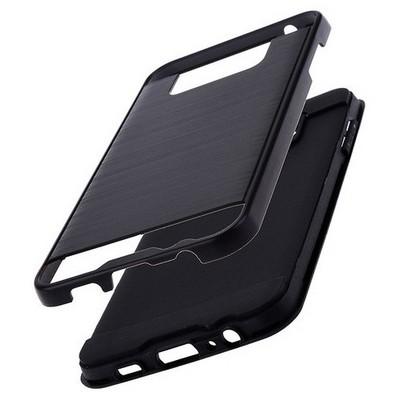 Microsonic Samsung Galaxy C5 Kılıf Slim Heavy Duty Siyah Cep Telefonu Kılıfı