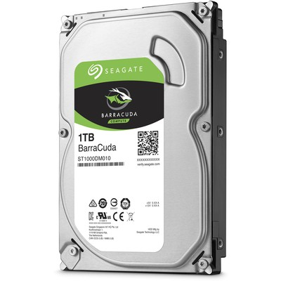 Seagate BarraCuda 1TB Hard Disk - ST1000DM010