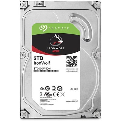 Seagate IronWolf 2TB NAS Hard Disk (ST2000VN004)
