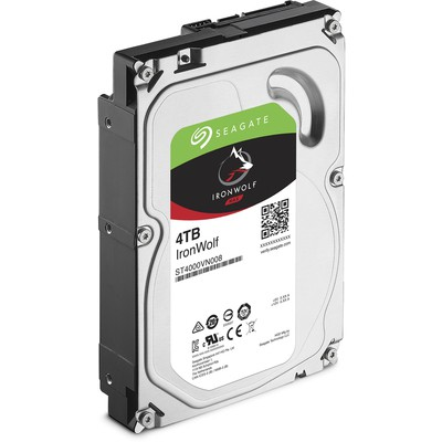 Seagate 4tb Ironwolf 3,5'' 5900 64mb St4000vn008 Hard Disk