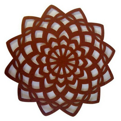 Kütahya Porselen Keçe Kahverengi Amerikan Servis Servis Gereçleri