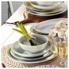 Mitterteich 86683 Desen 24 Parça Yemek Seti Yeşil Yemek Takımı