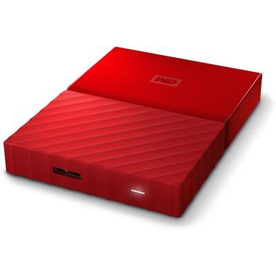 WD My Passport 1TB Kırmızı Taşınabilir Disk (WDBYNN0010BRD)