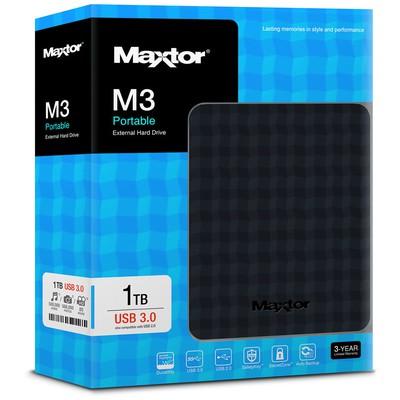 Maxtor 2.5 1tb Usb3.0 Siyah Stshx-m101tcbm Taşınabilir Disk