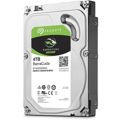 Seagate BarraCuda 4TB Hard Disk (ST4000DM005)