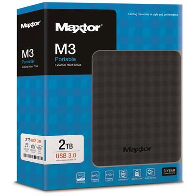 """Maxtor 2tb 2.5"""" Usb3.0 Stshx-m201tcbm Taşınabilir Disk"""