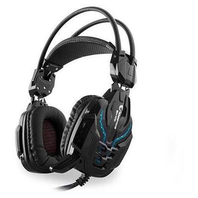 Snopy Rampage Sn-r10 2m Kablo Led Oyuncu Siyah Mikrofonlu Kulaklık Kafa Bantlı Kulaklık