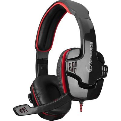 Rampage SN-R9K Rampage SN-R9 Oyuncu Siyah/kırmızı Mikrofonlu Kulaklık Kafa Bantlı Kulaklık