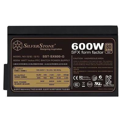 Silverstone SFX Serisi 450w 80+Gold Güç Kaynağı (SST-SX600-G)