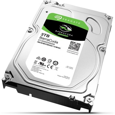 Seagate BarraCuda 3TB Hard Disk (ST3000DM008)