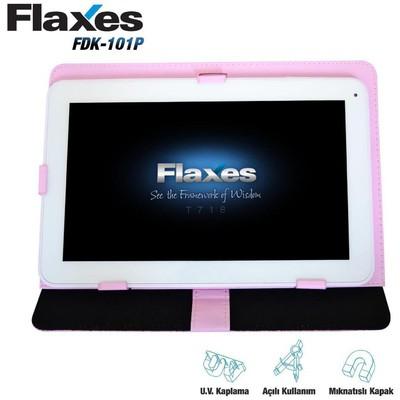 Flaxes Fdk-101p Flaxes Fdk-101p  10.1 Pembe Ayarlanabilir Tablet Kılıfı