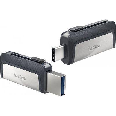 Sandisk Sdddc2-128g-g46 Ufm Ultra Dual Drive Usb 128gb Type-c 3.1 USB Bellek