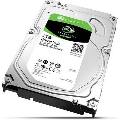 Seagate BarraCuda 2TB Hard Disk (ST2000DM006)