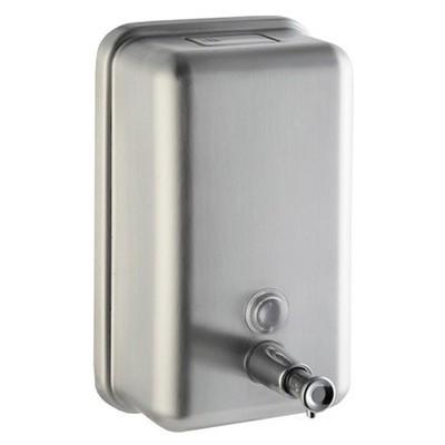 Rulopak Sıvı Sabunluk Paslanmaz Mat Metal 1000 Ml R-3010