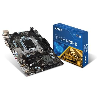 MSI H110M Pro-D Intel Anakart