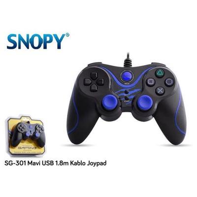 Snopy SG-301 Mavi USB Gamepad