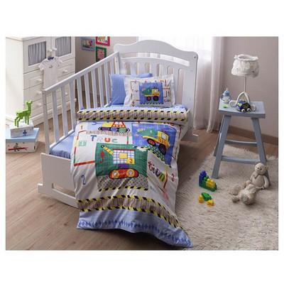 Taç Baby Toys  Takımı - Mavi Bebek Nevresim