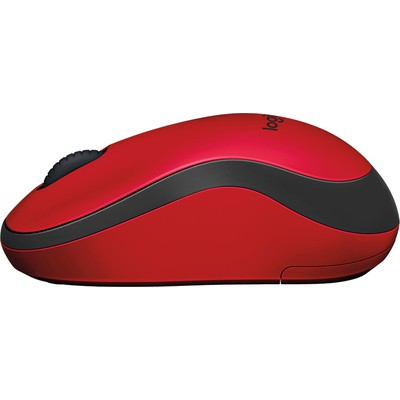 Logitech M220 Silent Kablosuz Mouse - Kırmızı (910-004880)