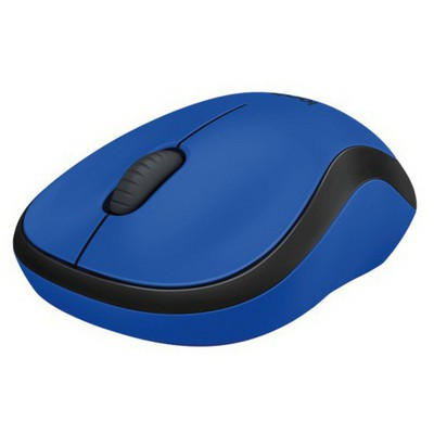 Logitech M220 Silent Kablosuz Mouse - Mavi (910-004879)