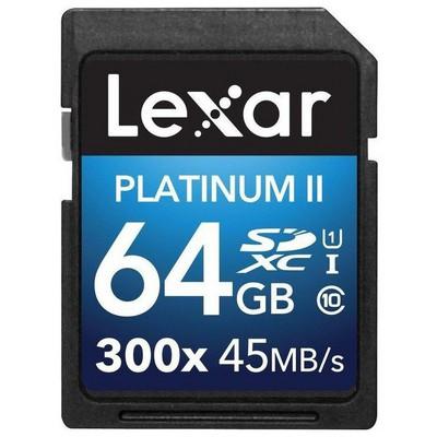 Lexar 64gb Sdhc 300x Premium Iı Lsd64gbbeu300 SDHC