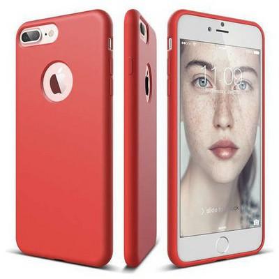 Elago 8809461766027 Apple Iphone 7 Plus Kılıf + Ekran Koruyucu Kırmızı Cep Telefonu Kılıfı