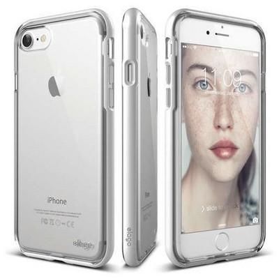 Elago 8809461766201 Apple Iphone 7 Kılıf + Ekran Koruyucu Beyaz Cep Telefonu Kılıfı