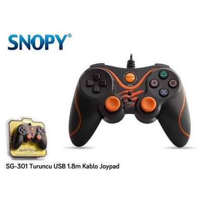 Snopy SG-301 Turuncu USB Gamepad