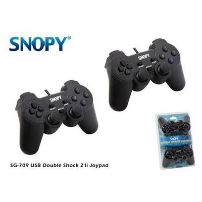 Snopy Sg-709 Sg-709 Usb Duoble Shock 2li Joypad Gamepad / Joystick