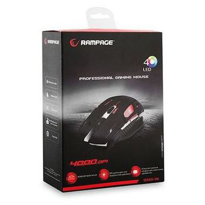 Everest Rampage SMX-R1 Gaming Mouse - Siyah