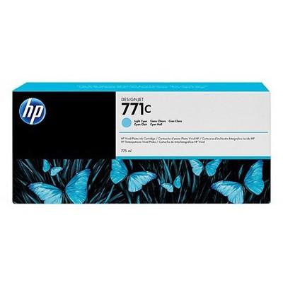 HP 771c 775 Ml Açık Camgöbeği Designjet Mürekkep u Kartuş