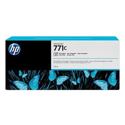 HP 771c 775 Ml Fotoğraf Siyahı Designjet Mürekkep u Kartuş