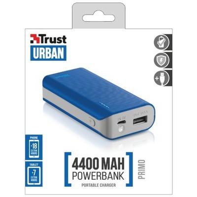 Trust Urban Primo PowerBank 4400 - Mavi (21225)