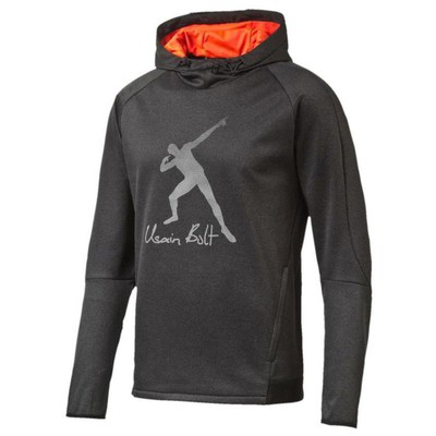 Puma 53536 838994-07 Ub Evostripe Logo Hoody Dark Gray Sweat 838994-07