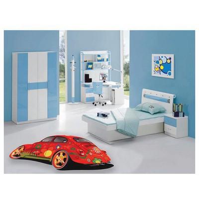 İhouse Kc08 Cocuk Odası sı Kırmızı Halı