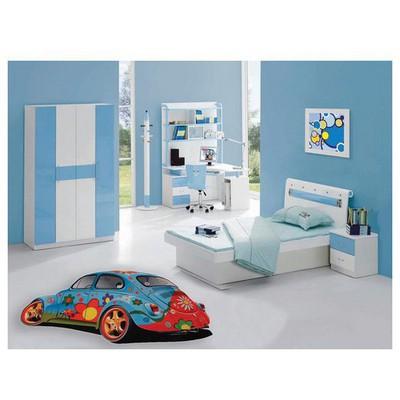 İhouse Kc10 Cocuk Odası sı Mavi Halı
