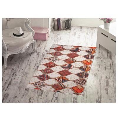 İhouse Patch10b Patcwork Kaydırmaz Halı Mozaik Ev Tekstili