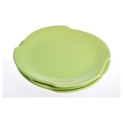 Keramika 6 Adet Pasta Tabagı 20 Cm Ruzgar Yesıl Tabak