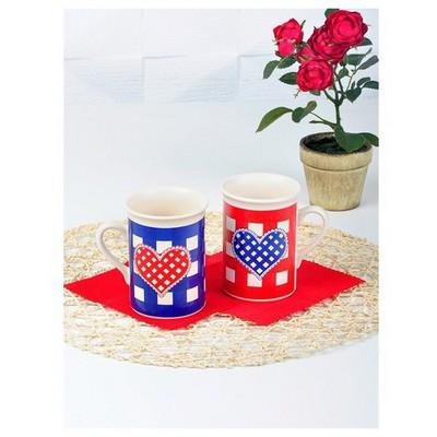 Keramika 2 Adet Tuna Potıkare Nescafe Kupası Çay Seti