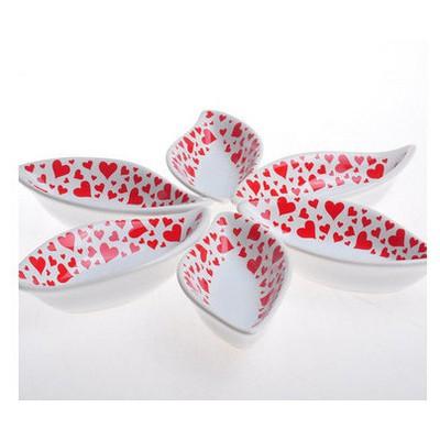Keramika 6 Lı 12 Cm Kera Mıra Kırmızı Sosluk Çerezlik