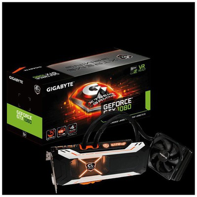Gigabyte GeForce GTX 1080 Xtreme Gaming WaterForce Ekran Kartı