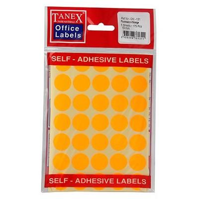 Tanex Ofc-131 Ofis i Floresan 19mm Etiket