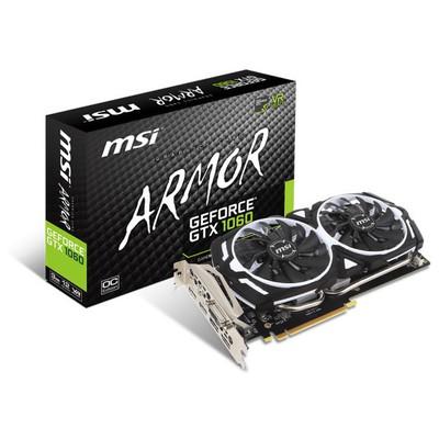 MSI GeForce GTX 1060 Armor OCv1 3G Ekran Kartı