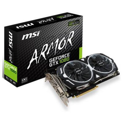 MSI GeForce GTX 1080 OC Armor 8G Ekran Kartı