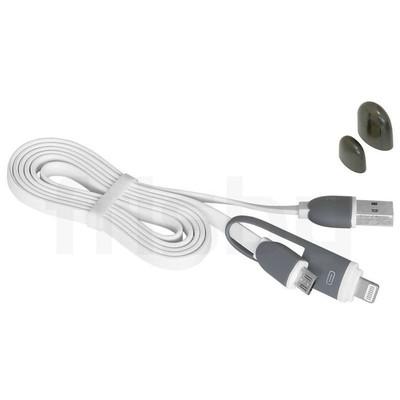 Frisby Fa-7520ıpmu 2in1 (iphone+micro) Usb 2.0 Data/şarj Kablo Siyah Dönüştürücü Kablo