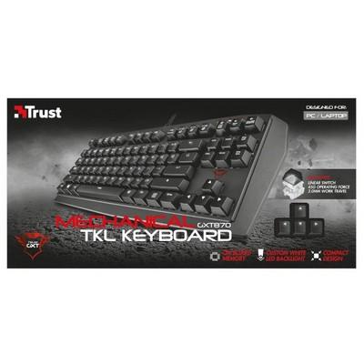 Trust  Gaming GXT 870 Mekanik TKL Oyun Klavyesi (21289)
