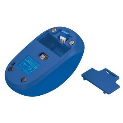 Trust Primo Kablosuz Mouse - Mavi-Geometri (21480)