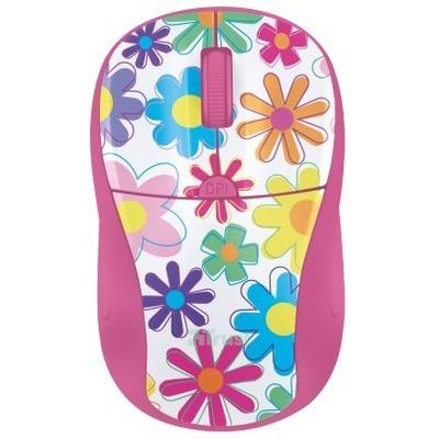 Trust Primo Kablosuz Mouse - Pembe Çiçekler (21481)